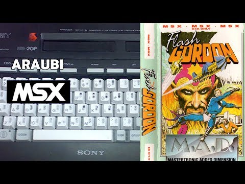 Flash Gordon (Mastertronic, 1987) MSX [191] Walkthrough Comentado