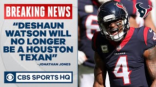 BREAKING: Deshaun Watson requests a trade out of Houston | CBS Sports HQ