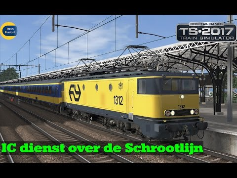 IC dienst over de Schrootlijn | NS 1312 | Train Simulator 2017