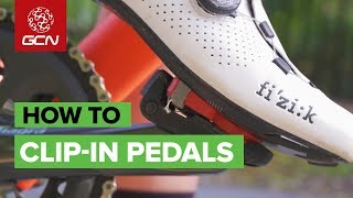How To Use Clip-In Pedals & Cleats | Clipless Tips For Beginners