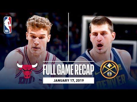 Full Game Recap: Bulls vs Nuggets   Denver Knocks Down 20 Three Pointers