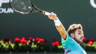 Day 14 Wawrinka Hot Shot