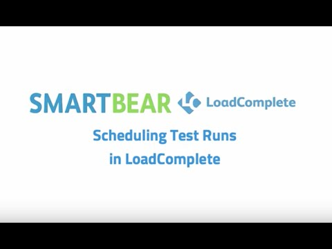 LoadComplete: Scheduling Test Runs in LoadComplete