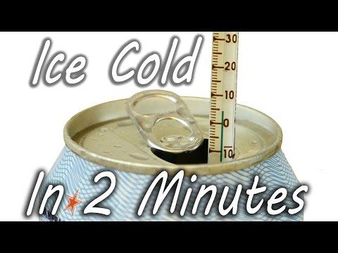 Ohladite piće za 2 minuta!