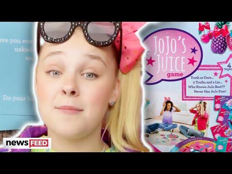 Jojo Siwa Responds To Her INAPPROPRIATE Board Game!