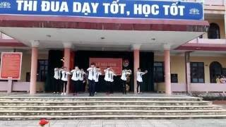 bài nhảy cực chất và vui nhộn của lớp 12a2 THPT Trần Hưng Đạo