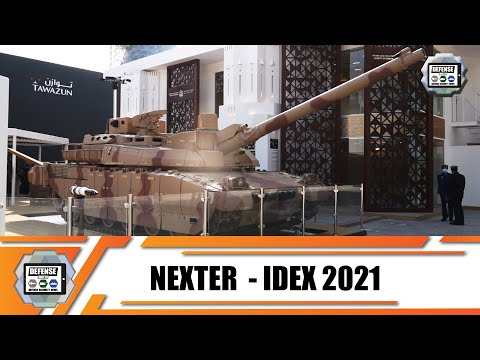 IDEX 2021 French company Nexter presents its full range of defense products and combat vehicles
