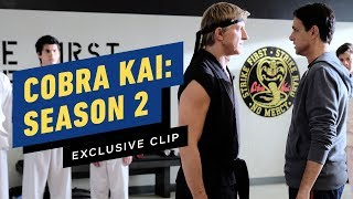 Cobra Kai - Season 2 Clip (Ft. Mr. Miyagi Flashback)
