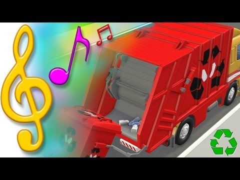 TuTiTu Songs- Garbage Truck recycling Song - TuTiTuTV  - H74t0tKgMWU -