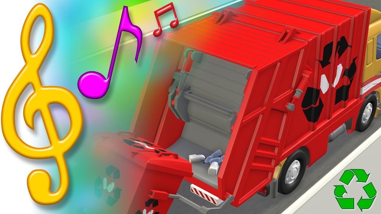 Tutitu Songs Garbage Truck Recycling Song Songs For