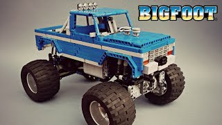 Lego Technic BIGFOOT #1 RC Monster Truck - MOC - With Instructions and Parts list