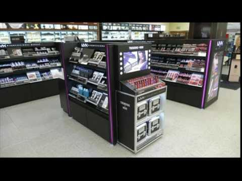 Cosmetics Installation