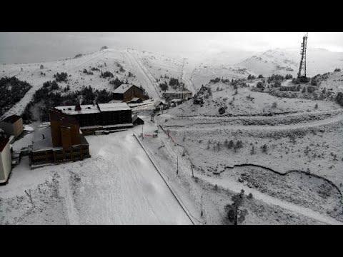 Kartalkaya'da pistlerde kar kalınlığı 1 metreye ulaştı
