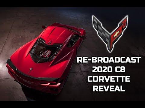 C8 Corvette Liveshow Today For Dummies