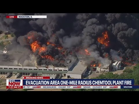 Fire, explosion rocks Chemtool manufacturing plant in Rockton, IL | NewsNOW from FOX