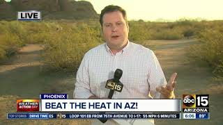 Cheap ways to stay cool during Arizona summer