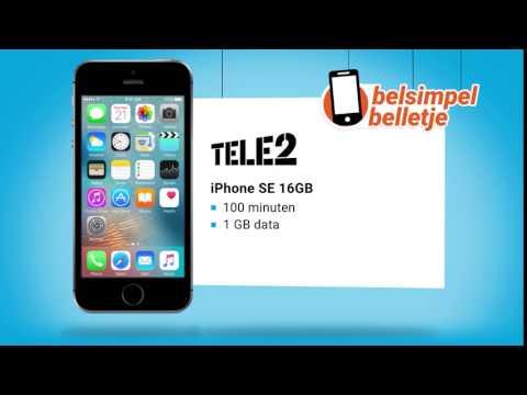 Belsimpel belletje van de week: iPhone SE & Tele2