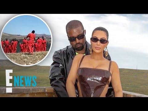 Kim Kardashian Supports Kanye at Sunday Services in Wyoming