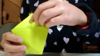 How to make a french fries box-Super Easy