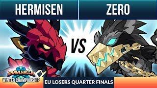 Hermisen vs Zero - L Quarter Final - Winter Championship EU 1v1 Top 8