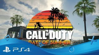 "Call of duty ""days of summer :  bande-annonce"