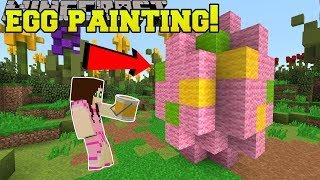 Minecraft: EASTER EGG PAINTING CONTEST!! - EASTER EGGCITEMENT - Mini-Game