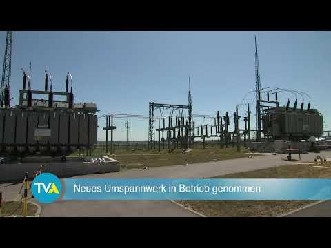 TV Aktuell: Umspannwerk in Gebelkofen offiziell in Betrieb