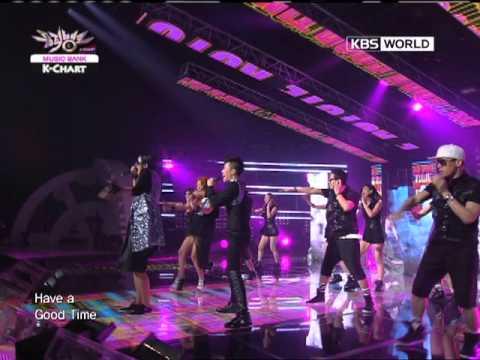 [Music Bank K-Chart] Koyote - Good Good Time (2011.08.19)