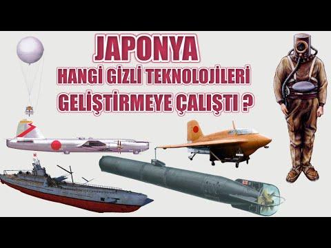 JAPONYA HANGİ GİZLİ TEKNOLOJİLERİ GELİŞTİRMEYE ÇALIŞTI ? 2. dünya savaşı tarihi