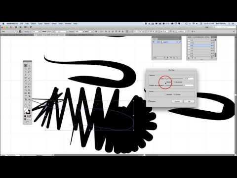 How to Clean-up Brush Tool Strokes in Adobe Illustrator