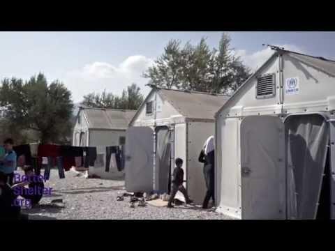 Better Shelter in Mytilini (Lesvos) September 2015