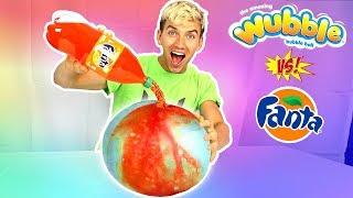 SODA VS WUBBLE BUBBLE!!