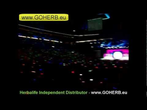 HERBALIFE Extravaganza Barcelona 20-23 September 2012 - Distributor Light Show