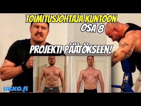 TOIMITUSJOHTAJA KUNTOON OSA 8 - PROJEKTI PÄÄTÖKSEEN!