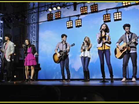 Baixar Send It On - Miley Cyrus ,Jonas Brothers, Demi Lovato, and Selena Gomez (Full / HQ/ Lyrics)