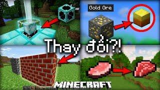 Top 10 Thứ Đã Bị Mojang Thay Đổi Trong Minecraft!! (Phần 1)