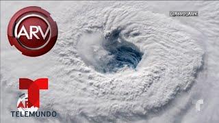 Florence comienza a asomarse con su poder destructivo | Al Rojo Vivo | Telemundo