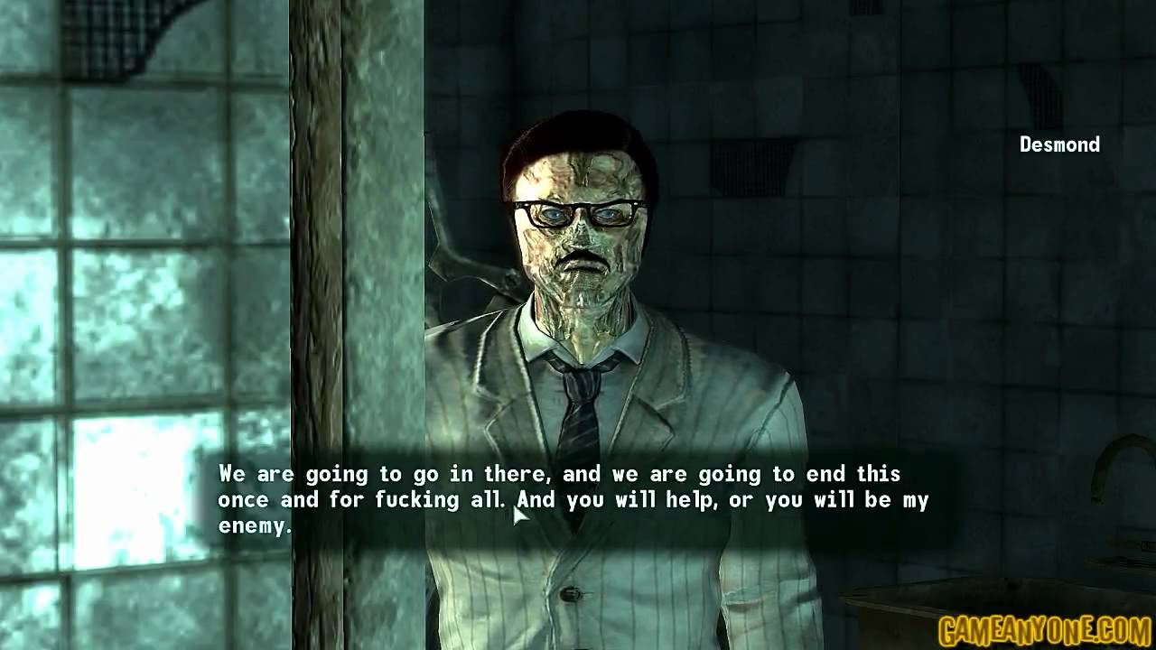 fallout 3 point lookout ending a relationship