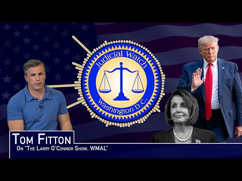 Tom Fitton: Having A Senate Trial Rewards Pelosi's Coup Attempt against President Trump