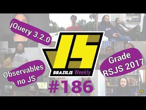 Weekly #186 - Observables no JS, jQuery 3.2.0 e grade RSJS 2017!