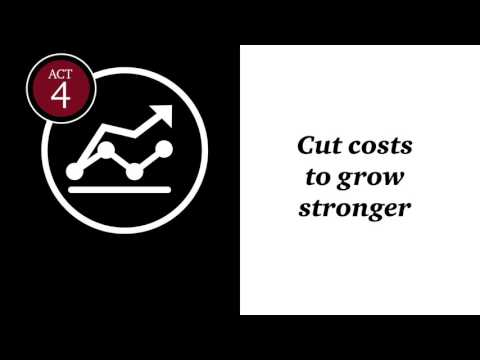 Strategy That Works : Act 4: Cut costs to grow stronger