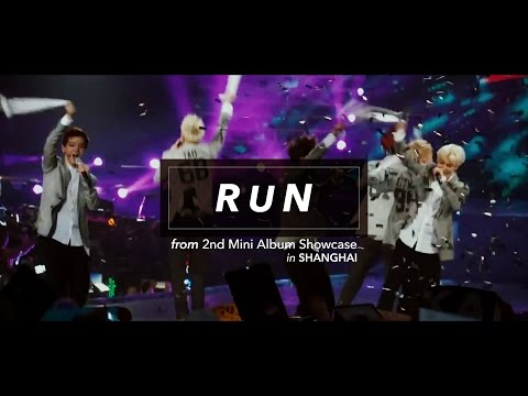 [LIVE] EXO「Run」Special Edit. from 2nd Mini Album Showcase in SHANGHAI