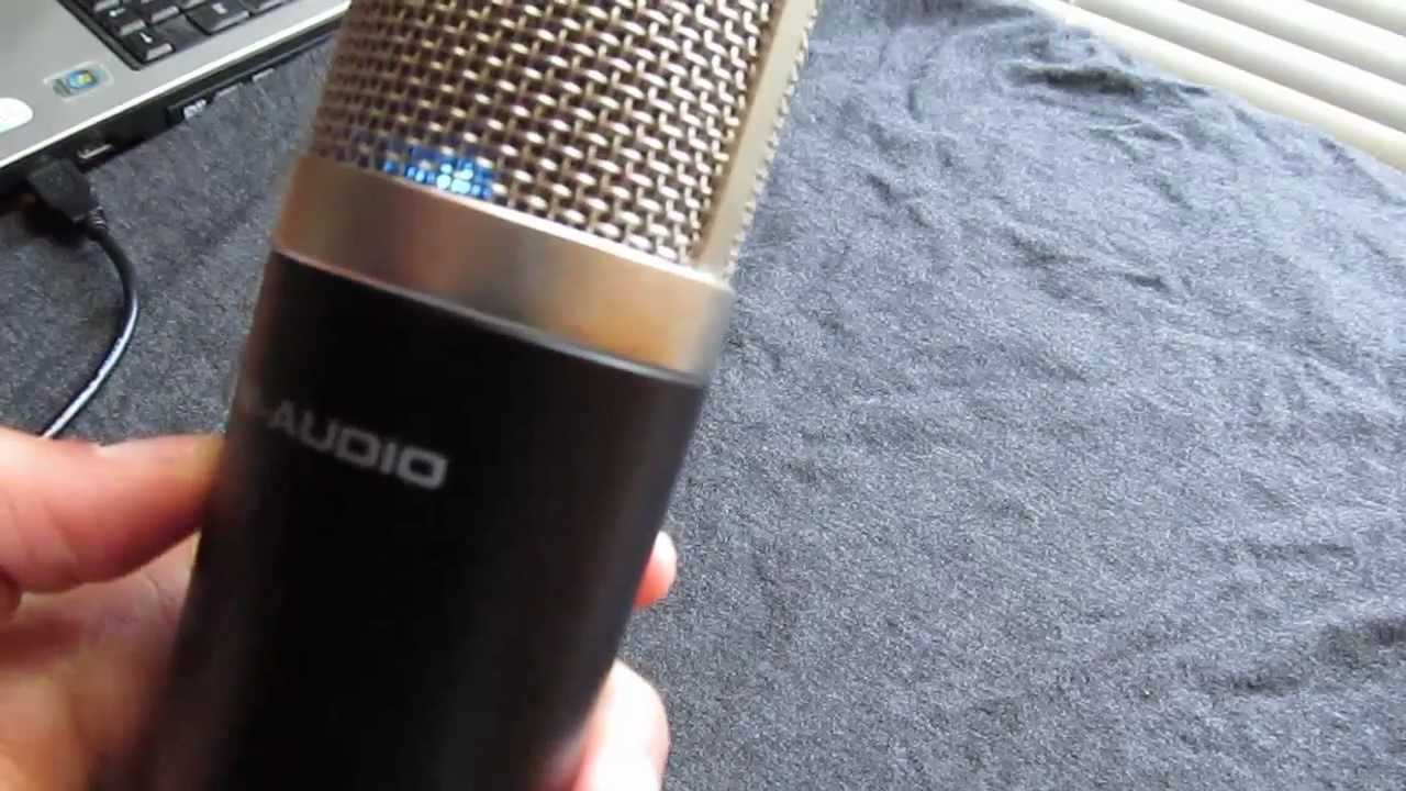 m audio producer usb mic review and test youtube. Black Bedroom Furniture Sets. Home Design Ideas