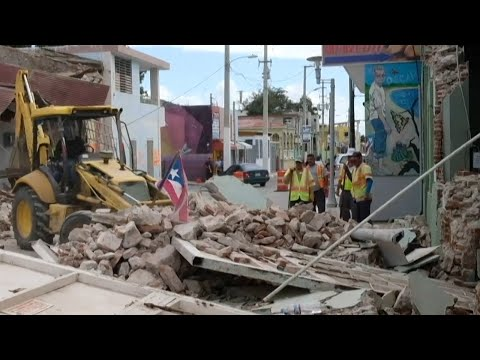 Puerto Rico hit with another earthquake