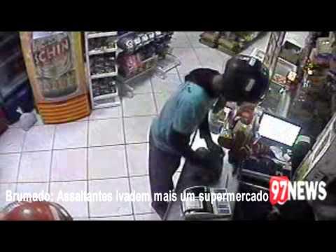 Brumado: Assaltantes roubam mais um mercadinho