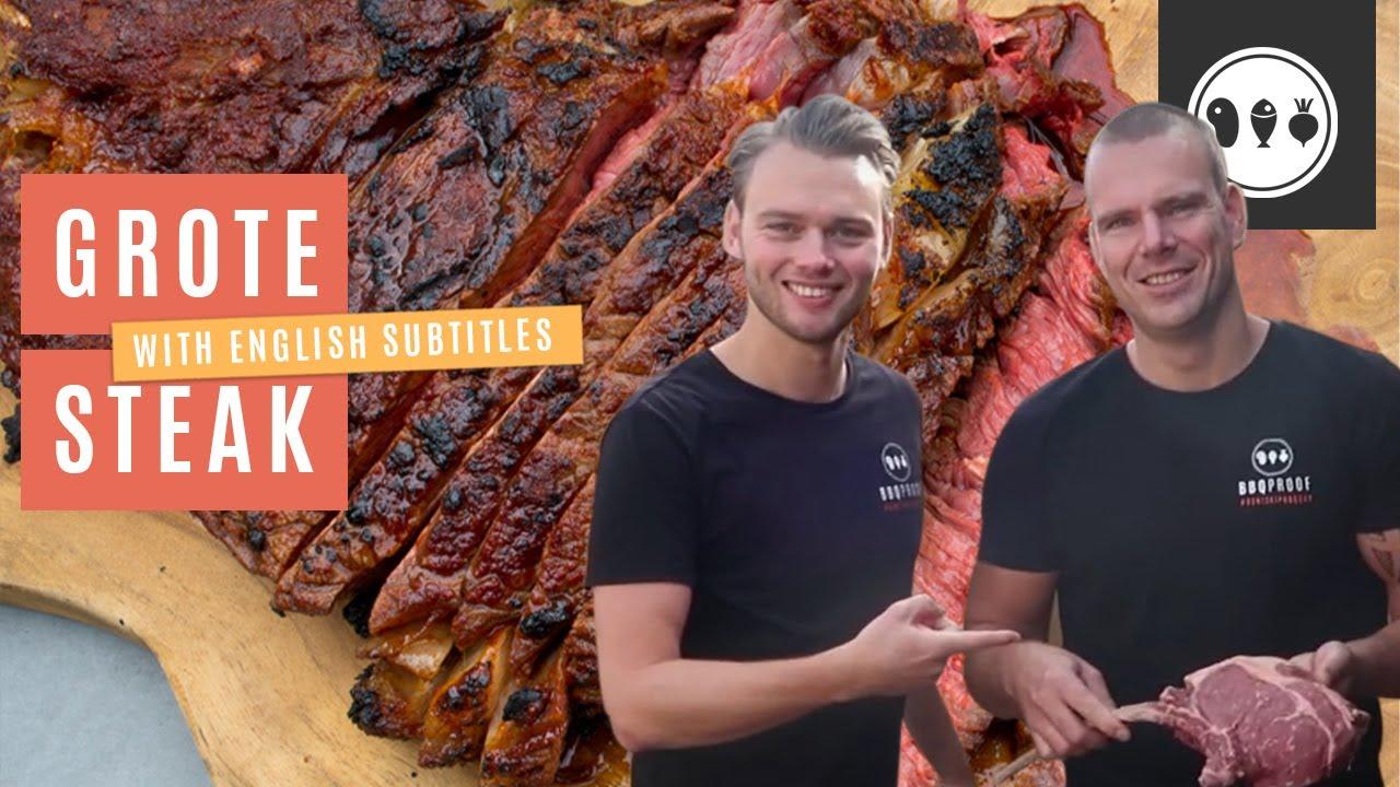 BBQ tutorial #4: Hoe gril je een groot stuk vlees op de BBQ?