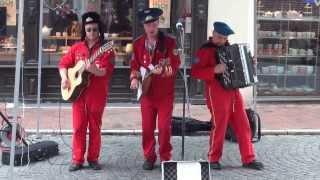 Cosmonautix - Poj, Igraj, Garmoschka (unplugged) @ Stadtspektakel Landshut