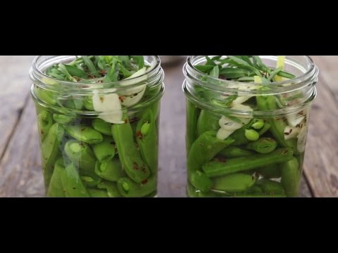 CSA Series - How to Make Sugar Snap Pickled Peas