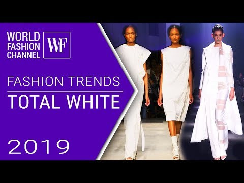 TOTAL WHITE LOOK | Fashion trends spring-summer 2019
