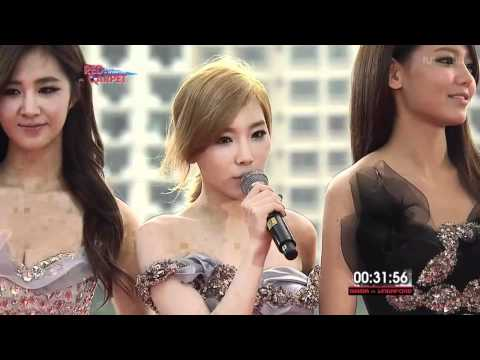 111129 SNSD - 2011 MAMA Red Carpet in Singapore
